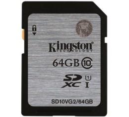 Kingston 64GB SDXC Class 10 UHS-1