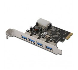 Logilink PCI-Express USB 3.0 x 4 Kortti