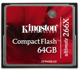 Kingston 64GB 266X Compact Flash