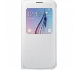 Samsung S6 Valkoinen S-view Suojakansi