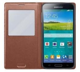 Samsung Galaxy S5 S-View Rose Gold Alkuperäinen