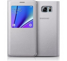Samsung Galaxy Note 5 S-View Hopea Alkuperäinen