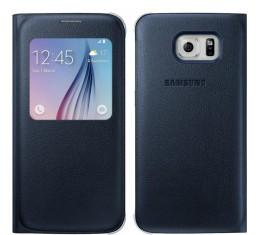 Samsung Galaxy S6 S-view Suojakuori Musta