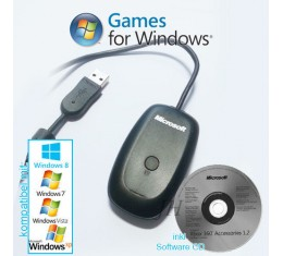 Microsoft Wireless XBOX360 Wireless Vastaanotin