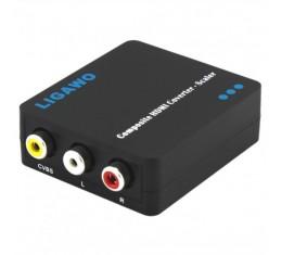 Ligawo Komposiitti - HDMI Konvertteri