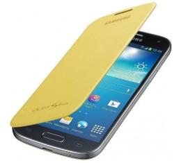 Samsung Galaxy S4 Mini Flipcover Keltainen