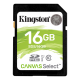 Kingston Canvas Select 16GB SDHC UHS1