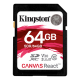 Kingston Canvas React 64GB SDXC U3 V30