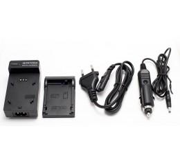 CGA-S005 S007 S008 Fuji NP-70 Samsung BP-125A Akkulaturi 12V + 230V