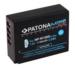Patona Platinum NP-W126s Akku 1140mAh