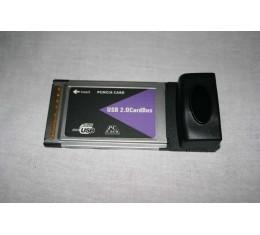 USB 2.0 PCMCIA 4-port Liitäntäkortti
