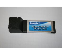 eSATA-II ExpressCard Kortti 2-porttinen