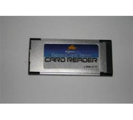 Sisäinen ExpressCard 11-in-1 Muistikortinlukija