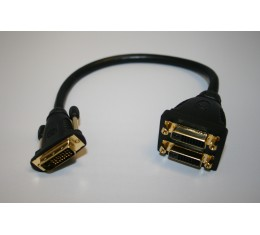 DVI -> 2x DVI Adapteri