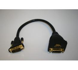 DVI -> HDMI ja DVI Adapteri