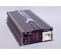 Intelligent 1000W Sinusaaltoinvertteri (12V / 24V)