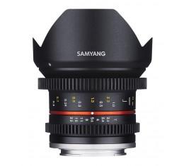 Samyang 12mm T2.2 VDSLR Objektiivi *Kaikki Merkit*