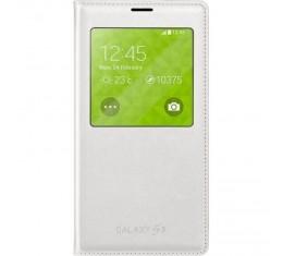 Samsung Galaxy S5 S-View Valkoinen Alkuperäinen
