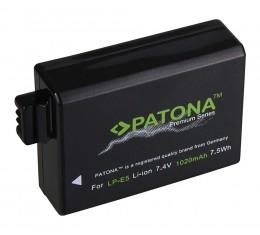 Patona Premium Canon LP-E5 Akku 1020mAh
