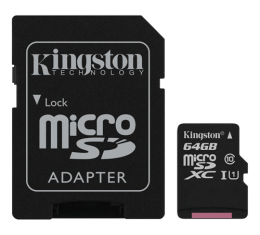 Kingston 64GB microSDXC UHS-1