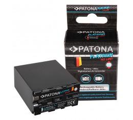 Sony NP-F970 Akku Patona Platinum 10000mAh TESLA kennot