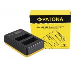 Patona NP-W126 W126s Dual Akkulaturi