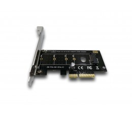 M.2 SSD NGFF (B+M) -> PCIe 3.0 x4 Adapter