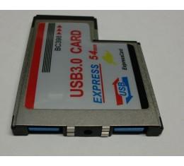 ExpressCard 54 USB 3.0 Kortti