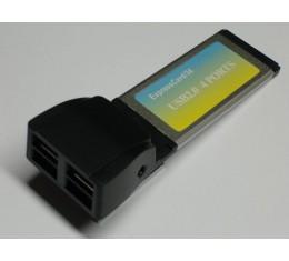 ExpressCard 34mm USB 2.0 Kortti