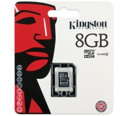 Kingston 8GB microSDHC