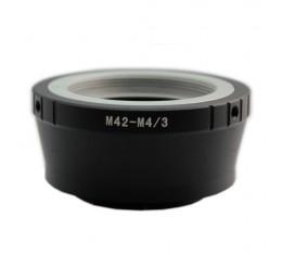 micro 4/3 (runko) - M42 Adapteri