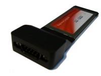 ExpressCard RS-232 Sarjaportti Kortti