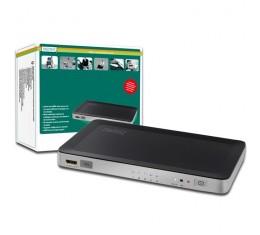 HDMI 1.3b Switch 5 in - 1 out : Kaukosäätimellä