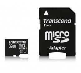 Transcend 32GB microSDHC UHS-I Class 10