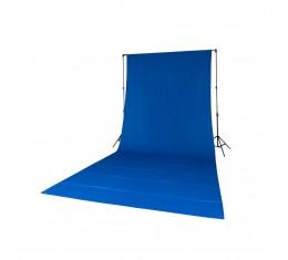 Quadralite Taustakangas Sininen 2,8x6,0m