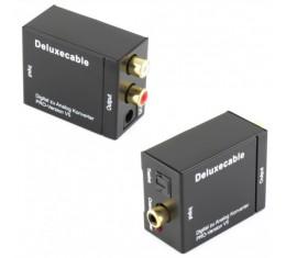 Ligawo DAC Konvertteri (Toslink / Koaksiaali -> RCA)