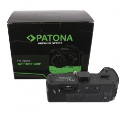 Patona Akkukahva Panasonic G80 G85 Kaukolaukaisimella