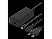 DELTACO USB-C-laturi  65W 2m USB-C PD