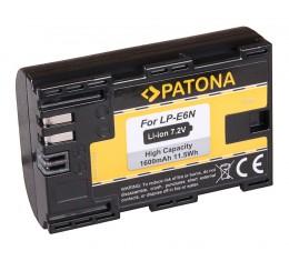 Patona LP-E6N 1600mAh Akku Canon EOS 5D 6D 7D 70D 80D