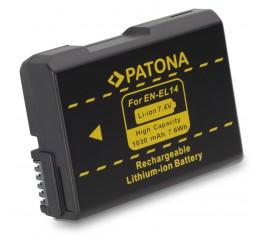 Nikon EN-EL14 Akku: CoolPix P7000-P7800 D5100-D5600 D3100-D3300