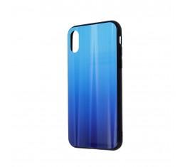 Samsung Galaxy A40 Aurora Lasikotelo Sininen