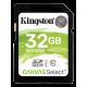 Kingston Canvas Select 32GB SDHC UHS1