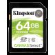 Kingston Canvas Select 64GB SDXC UHS1