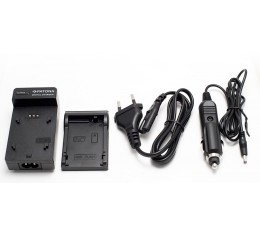 Casio NP-120 / Nikon EN-EL19 / Sony NP-BN1 Akkulaturi 12V + 230V