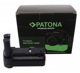 Patona Premium Akkukahva MB-N10 Nikon Z5 Z6 Z7 Kaukolaukaisimella