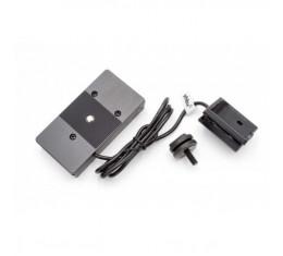 NP-F970 (tai vastaava) Sony NP-FW50 akkujen tilalle (Adapteri)