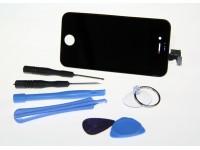 Apple iPhone 4S LCD-Näyttö ja Kosketuskalvo Musta *UUSI*