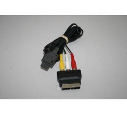 SNES Cinch kaapeli Scart Adapterilla Alkup.