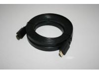 HDMI 1.4 Litteä Kaapeli HighSpeed Ethernet UltraHD 4Kx2K 5,0m