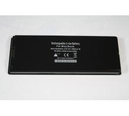 """Apple Macbook 13"""" Tehoakku Musta A1185 (Musta, muovikuorelliset Macbookit)"""